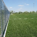 Outdoor Turf Fields fence view #2